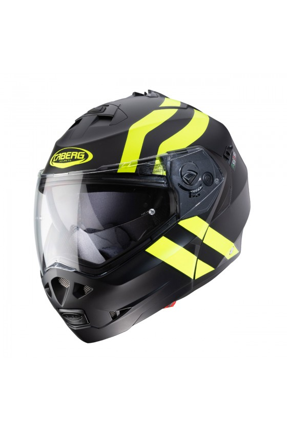 Casco Caberg Modulare Duke Superlegend Matt Black/Yellow Fluo New 2020